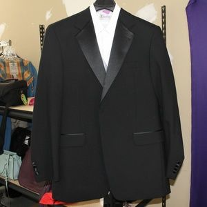 Stafford Suit with Shirt, Vest, and Tie